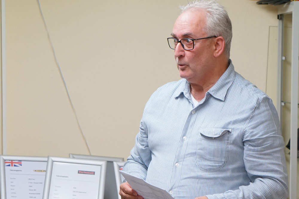 Dieter Veser, Sportleiter