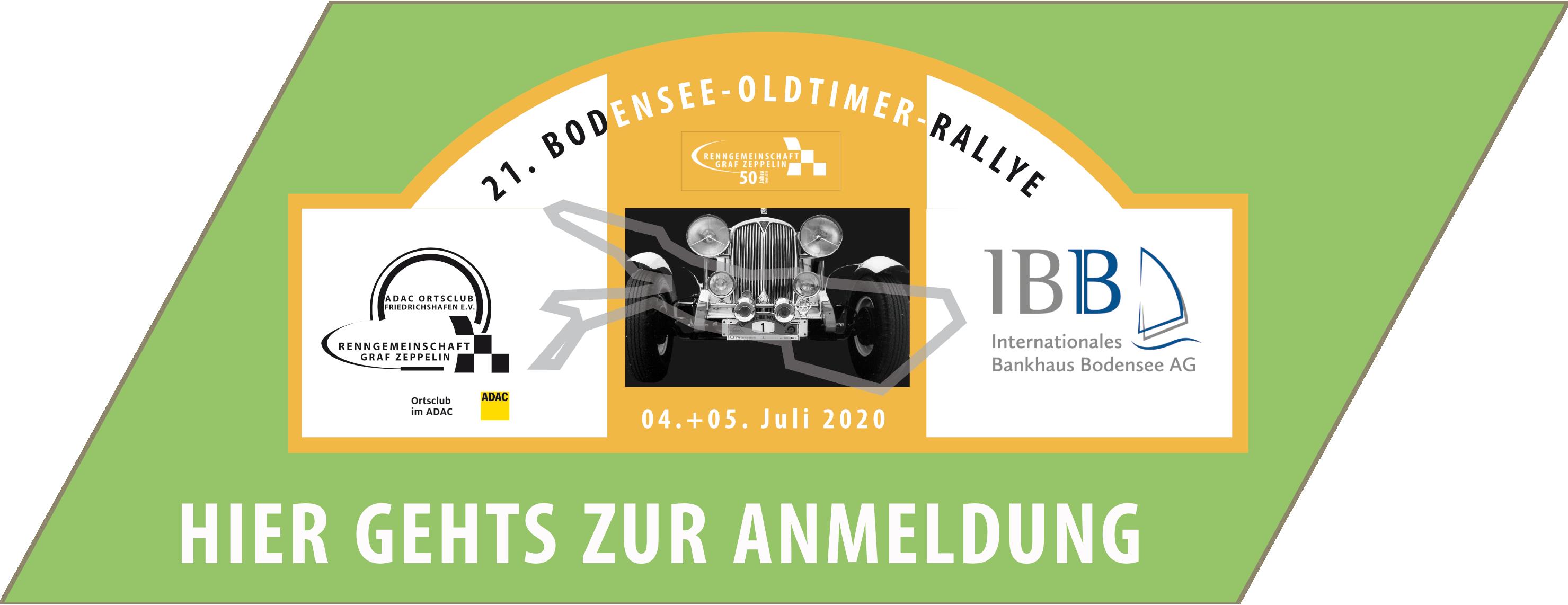 21. Bodensee Oldtimer Rallye am 4. & 5. Juli 2020 Logo